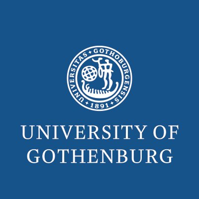 Puesto de profesor en la Universidad de Gothenburg